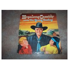 Vintage Children's Book Hopalong Cassidy Authorized Edition