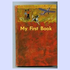 My First Book Ryerson Hard Covered Reader  1966