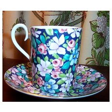 Royal Albert China Chintz Demitasse /  Cocoa  Nocturne