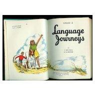 Language Journeys Grade 4 Text Book MacMillan 1952