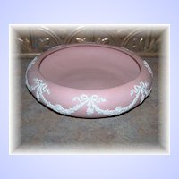 Deco Style ECanada Pink Jasperware Pottery Bowl Emery 1926