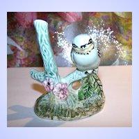 Weetman Giftware England Porcelain Bird on Branch Figurine