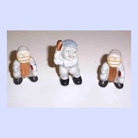 Ceramic Novelty Baseball Figurines Japan