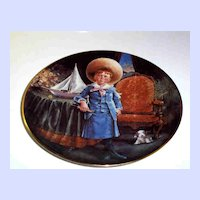 George Second Issue In The Stewart's Children Plate Series