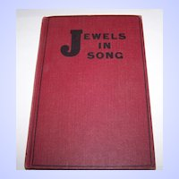 Hard Covered Book Jewels in Song C.1925