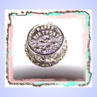 Vintage Dimensional Birthday Cake Charm for your Bracelet