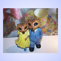 "The Ringtale Raccoons 1981 "" Newlyweds "" West Germany Hummelwerk"