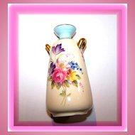 Miniature Floral Vase Paragon Double Warrant