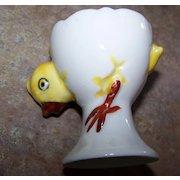 Chick Cracked Egg Ceramic Egg Cup