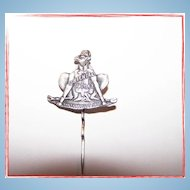 Shriner' s Stick Pin Camel Fez Cap Oriental Troy , N.Y. Sanfrancisco 1902.