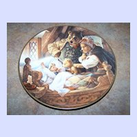 """Knowles Collector Plate """" Goldilocks and the Three Bears """""""