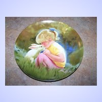 "Collector Plate ""Tender Moment"" Pemberton Oakes 1984 Donald Zolan"