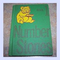 Number  Stories  1946-47 Edition Scott , Foresman & Co. Children's Reader