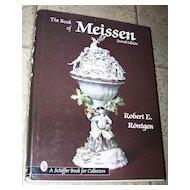 The Book of Meissen Second Edition Robert Rontgen