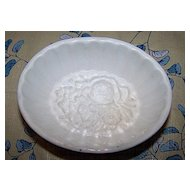 Floral Food Mold English Ironstone