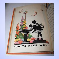 Health Stories Book One Children's School Text Book H.C.