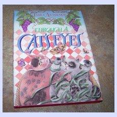 C. 1988 Toula Antonakos Book Through A Cat's Eyes