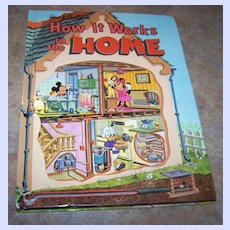 Walt Disney H.C. Book How It Works In The Home C. 1982