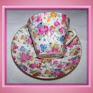 Marina Lord Nelson Chintz Tea Cup & Saucer