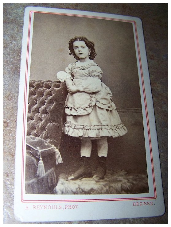 Carte De Visite Small Young Lady Possibly Little Person Status Victorias Purrrrfect Treasures