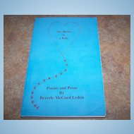 "S.C. Book "" My Heart is a Kite "" Poems & Prose Beverly McCord Lyden"