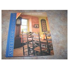 "H.C. Book "" A Country Home Tour "" American Country"
