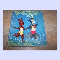 Childrens Book Uncle Wiggly At The Beach C.1936