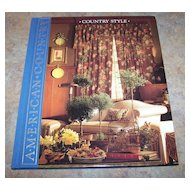 "H.C. Book American Country "" Country Style"""