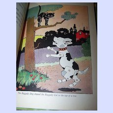 Raggedy Animals  C. 1936 Rand McNally by Sherman Ripley