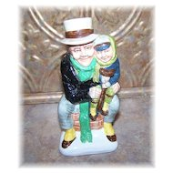 Wood & Sons Franklin Porcelain Toby Jug Bob Cratchit & Tiny Tim