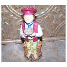 Wood & Sons England Toby Jug Oliver Twist Franklin Porcelain