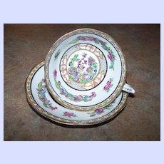 Royal Paragon Fine Bone China Tea Cup & Saucer Floral Motif