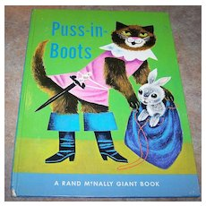Rand McNally Giant Book Puss-In-Boots