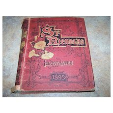 H.C. Book St. Nicholas Illustrated 1893 Part Two An Illustrated Magazine