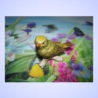 Goebel Bird on Branch  Figurine 38026 Greenfinch