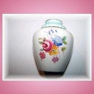 Paragon Double Warrant Miniature Porcelain Vase Floral Motif
