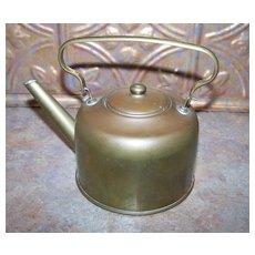 Wonderful Vintage Brass Kettle Holds 2 Cups