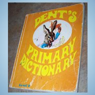 Soft Cover Dent's Primary Dictionary Level 2