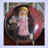 Victoria by Stewart Sherwood First Issue in the Stewart's Children Collector Plate