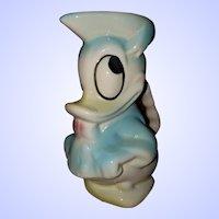 Vintage Collectible Walt Walt Disney Donald Duck Pottery Jug