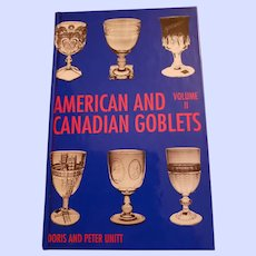 Hard Cover Reference Book American and Canadian Goblets Volume II