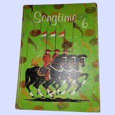 Hard Cover Children's Book  Songtime 6 Music School Text