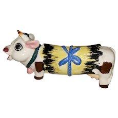 CUTE Onesie Ceramic  Moo Cow Salt Pepper Shaker