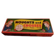 1960's era Game Noughts and Crosses by Ontex no. 58 Canada