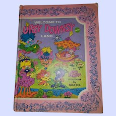 Collectables Vintage Hard Cover Book  Welcome to Upsy Downsy Land by Mattel