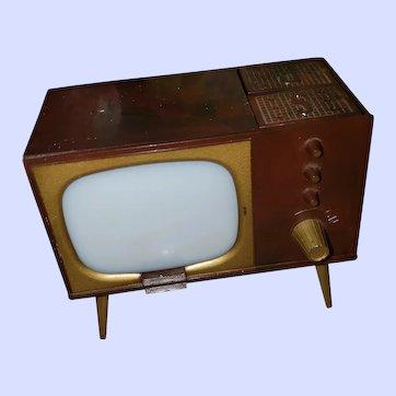 VTG Made in USA Plastic Mechanical TV S&P