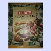 Hard Cover Advertising Cook Book The New Purity Cook Book