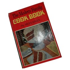 The Modern Family Cook Book by Meta Given