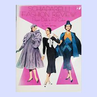 Schiaparelli Fashion Review Paper Dolls in Full Color Book