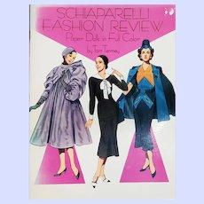 Schiaparelli Fashion Review Paper Dolls in Full Color Book